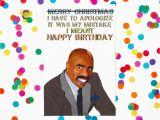 Ex Husband Birthday Meme Steve Harvey Funny Birthday Card Meme Humor Silly