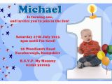 Example Of A Birthday Invitation First Birthday Party Invitation Ideas Bagvania Free