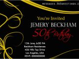 Examples Of 50th Birthday Invitations 50th Birthday Invitations and 50th Birthday Invitation
