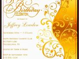 Examples Of 50th Birthday Invitations Template for 50th Birthday Invitations Free Printable