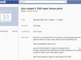 Facebook Birthday Invites Birthday Invitation Facebook event Facebook Party Invite