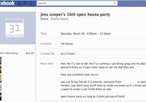 Facebook Birthday Invites Invitation Event Party Invite BirthdayBuzz