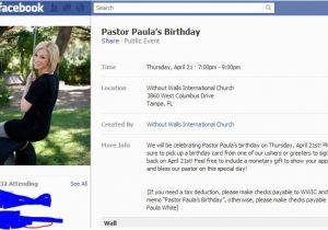 Facebook Birthday Invites Invitation Event Free