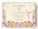 Fairy Birthday Invitation Wording Fairy Birthday Invitation Fairy Birthday Party by