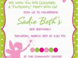 Fairy Birthday Invitation Wording Items Similar to Fairy Princess Birthday Party Invitation