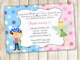 Fairy Birthday Invitation Wording Pirate Fairy Birthday Invitation Personalized Card Kids