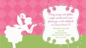 Fairy Birthday Invitation Wording Pixies and Fairy Wings Birthday Invitation Printable