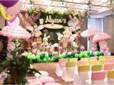 Fairy Decorations for Birthday Party Kara 39 S Party Ideas Fairy Garden 1st Birthday Party Kara