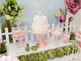 Fairy Decorations for Birthday Party Kara 39 S Party Ideas Fairy Garden 3rd Birthday butterfly
