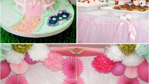 Fairy themed Birthday Party Decorations Kara 39 S Party Ideas Pink Fairy Girl Woodland Tinkerbell