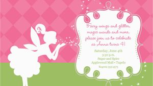 Fairytale Birthday Invitations Birthday Invitation Templates Fairy Birthday Invitations