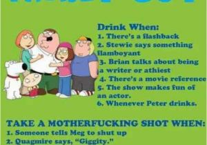 Family Guy Birthday Meme 9 Fun Party Drinking Games that Must Be Played at Least once
