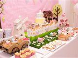 Farm Animal Birthday Party Decorations A Gorgeous Pastel Farm Party anders Ruff Custom Designs Llc