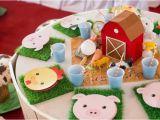Farm Animal Birthday Party Decorations Kara 39 S Party Ideas Barnyard Party Planning Ideas Supplies