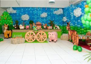Farm Animal Birthday Party Decorations My Kids 39 Joint Barnyard