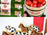 Farm Animal Birthday Party Decorations My Kids 39 Joint Barnyard Farm Birthday Party Party Ideas