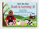 Farm First Birthday Invitations Farm Animals Invitation Farm Birthday First Birthday Invite