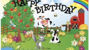 Farming Birthday Cards Children 39 S Birthday Cards Hidden Picture Farm 923u Y