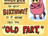 Farting Birthday Cards Funny Birthday Ecard Quot Old Fart Quot From Cardfool Com