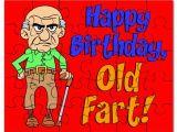 Farting Birthday Cards Happy Birthday Old Fart Puzzle by Birthdaypresents