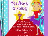 Fashion Show Birthday Party Invitations Fashion Show Birthday Party Invitations Cimvitation