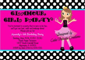 Fashion Show Birthday Party Invitations Fashion Show Birthday Party Invitations Ideas Bagvania