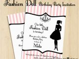 Fashion Show Birthday Party Invitations Free Printable Fashion Show Birthday Party Invitations