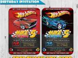 Fast Birthday Invitations Hot Wheels Inspired Birthday Invitation Free Thank You