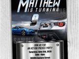 Fast Birthday Invitations Ssscreativedesigns On Artfire Com