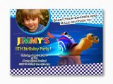 Fast Birthday Invitations Turbo Fast and Furious Kids Birthday From Uinvites Com