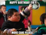 Fat Girl Happy Birthday Meme Happy Birthday Iya