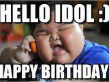 Fat Girl Happy Birthday Meme Hello Idol asian Fat Kid Meme On Memegen