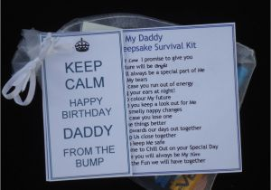 Father to Be Birthday Card Dad to Be Birthday Card Present Gift From the Bump Mum to