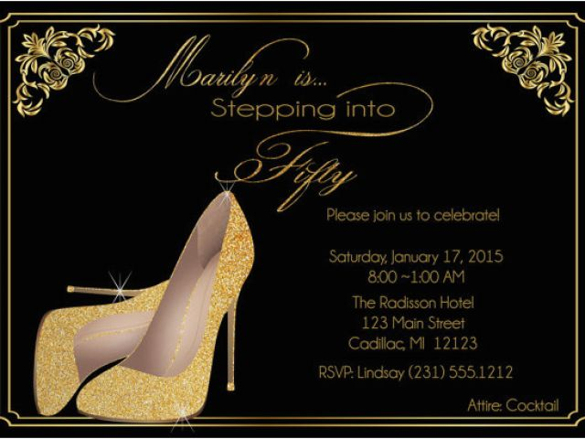 Download By SizeHandphone Tablet Desktop Original Size Back To Female 50th Birthday Invitations