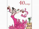 Female Birthday Card Images Female Birthday Card Quentin Blake Age 40 Same Day