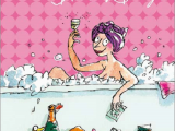 Female Birthday Card Images Quentin Blake Bubbly Birthday Female Greeting Card Cards