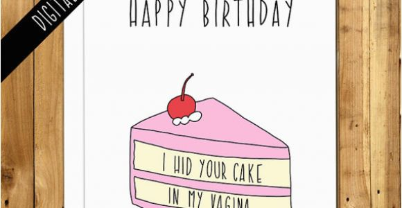 Fiance Birthday Cards for Him Printable Birthday Card for Boyfriend for Husband for