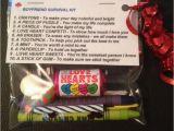 Fiance Birthday Present for Him Boyfriend Survival Kit Valentines Gift for Him