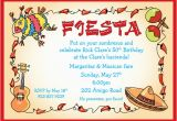 Fiesta themed Birthday Invitations A Fiesta theme Invitation