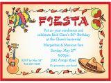 Fiesta themed Birthday Invitations A Fiesta theme Invitation