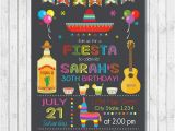 Fiesta themed Birthday Invitations Fiesta Birthday Invitations Fiesta Birthday Invitations