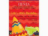 Fiesta themed Birthday Invitations Fiesta Fun Birthday Invitations Paperstyle
