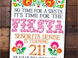 Fiesta themed Birthday Invitations Fiesta Party Diy Printable Invite Birthday Mexican Girl theme