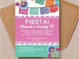Fiesta themed Birthday Invitations Mexican Fiesta themed Birthday Party Invitation From 0 90