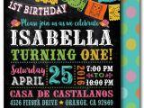 Fiesta themed Birthday Invitations Printable Digital Fiesta Paper Flags Birthday Invitations