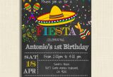Fiesta themed Birthday Invitations Printable Mexican Fiesta Party Invitations Diy Party