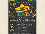 Fiesta themed Birthday Invitations Printable Mexican Fiesta Party Invitations Diy Party