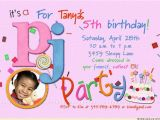 Fifth Birthday Party Invitation 5th Birthday Party Invitation Wording Eysachsephoto Com
