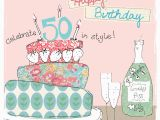 Fiftieth Birthday Cards 50th Birthday Cards for Her Uk