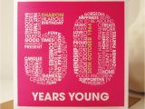 Fiftieth Birthday Cards Personalised 50th Birthday Card by Mrs L Cards